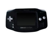 Consoles de jeux vidéo noirs pour Nintendo Game Boy Advance