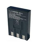 Camera Batteries for Canon PowerShot without Charger