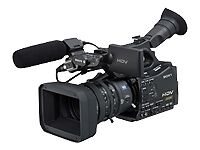 MiniDV High Definition Professional Camcorders
