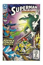 Justice League Uncertified No Modern Age Superman Comics