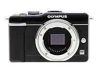 Olympus PEN Digitalkameras mit Lithium-Ion-Systemkameras