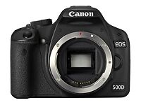 Canon EOS Digital Cameras with Image Stabilisation