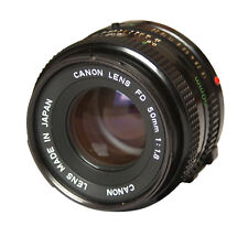 Canon FD Standard Camera Lenses 50mm Focal