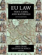 Law EU Law Adult Learning & University Textbooks