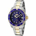 Stainless Steel Invicta Pro Diver Wristwatches