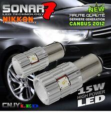 2 AMPOULE SONAR 7 LED P21/5W XL BLANC CITROEN C4 II & PEUGEOT 308 3008 5008 RCZ
