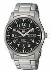 Seiko 5 Sports Adult Stainless Steel Band Wristwatches