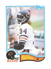 Topps Walter Payton Original Single Football Trading Cards