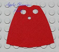 Genuine Lego RED MINIFIG CAPE - Star Wars/Pirate/Harry Potter/Castle Minifigure