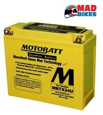 MOTOBATT Y50-N18L-A AGM SEALED MOTORCYCLE BATTERY 20% EXTRA STARTING POWER