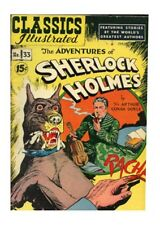Sherlock Holmes Gilberton Golden Age Classics Illustrated Comics