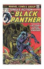 Black Panther Bronze Age Avengers Comics Not Signed