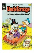 Uncle Scrooge Not Signed Bronze Age Cartoon Character Comics
