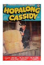 Hopalong Cassidy Uncertified Golden Age Westerns Comics