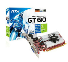 MSI 1GB NVIDIA Computer Graphics and Video Cards