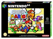 PC - & Videospiele für den Nintendo 64 Paper-Mario