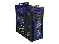 Boîtiers d'ordinateurs noirs Antec