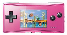 Consoles de jeux vidéo roses Game Boy Micro
