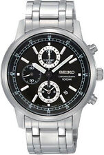 Seiko Men's Wristwatches with Chronograph