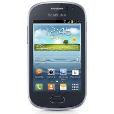 Téléphones mobiles bleus Android avec écran tactile