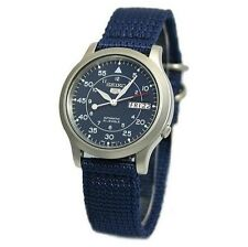 Nylon Band Stainless Steel Case Men's Adult Wristwatches