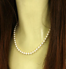 18k Yellow Gold Akoya Strand/String Fine Pearl Necklaces & Pendants