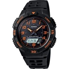 Casio Stainless Steel Case Casual Round Wristwatches