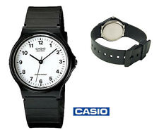 Casio Stainless Steel Case Plastic Band Wristwatches