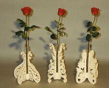Laubsägevorlage für drei verschiedene Vasen