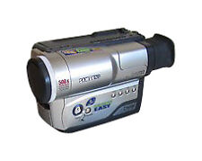Video 8 Camcorders with Image Stabilisation