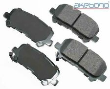 Akebono ACT1281 Rear Ceramic Brake Pads