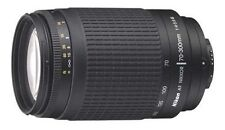 Nikon Auto & Manual Focus SLR 70-300mm Camera Lenses