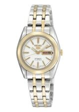 Seiko 5 Armbanduhren aus Edelstahl für Damen