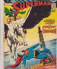 Uncertified No 5.0 VG/FN Bronze Age Superman Comics