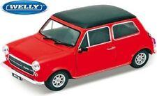 Véhicules miniatures rouges Mini Cooper 1:24