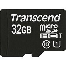 Transcend Speicherkarten mit microSDHC UHS-I-Format