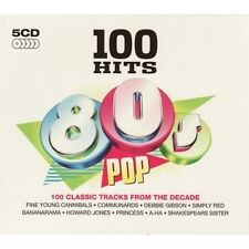 100 Hits Pop Box Set Music CDs