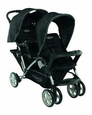 Graco Double Pushchairs & Prams with Rain Cover