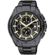 Citizen Armbanduhren aus Edelstahl mit Chronograph für Herren