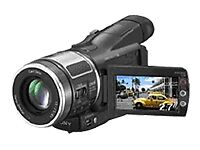 MiniDV HDV Camcorders with Touch-Screen