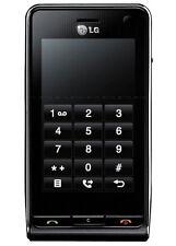 Téléphones mobiles noire LG écran tactile