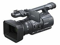 MiniDV Professional Camcorders with LCD Screen