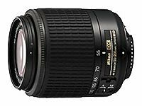 Nikon Zoom-NIKKOR 200mm Focal Camera Lenses