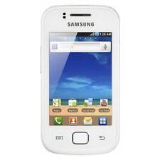 Téléphones mobiles blancs Samsung avec android 3G