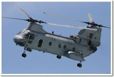 Boeing Vertrol CH46 Sea Knight Helicopter Military NEW POSTER