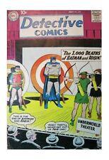 Martian Manhunter Silver Age Batman Comics Not Signed