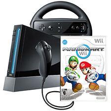 Consoles de jeux vidéo noir Nintendo Wii-Original