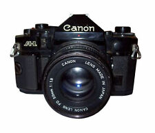 Canon Manual Focus SLR Film Cameras with Timer
