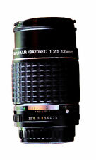 Pentax K Manual Focus Camera Lenses 135mm Focal