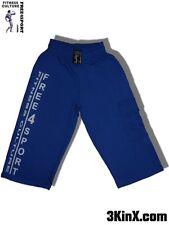 blaue Bermuda Shorts Fitnesshose für Sport, Bodybuilding und Freizeit Free4Sport